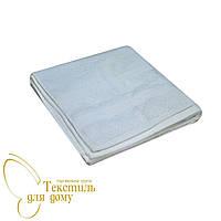 Полотенце банное 70*140, Листья ветка, белый