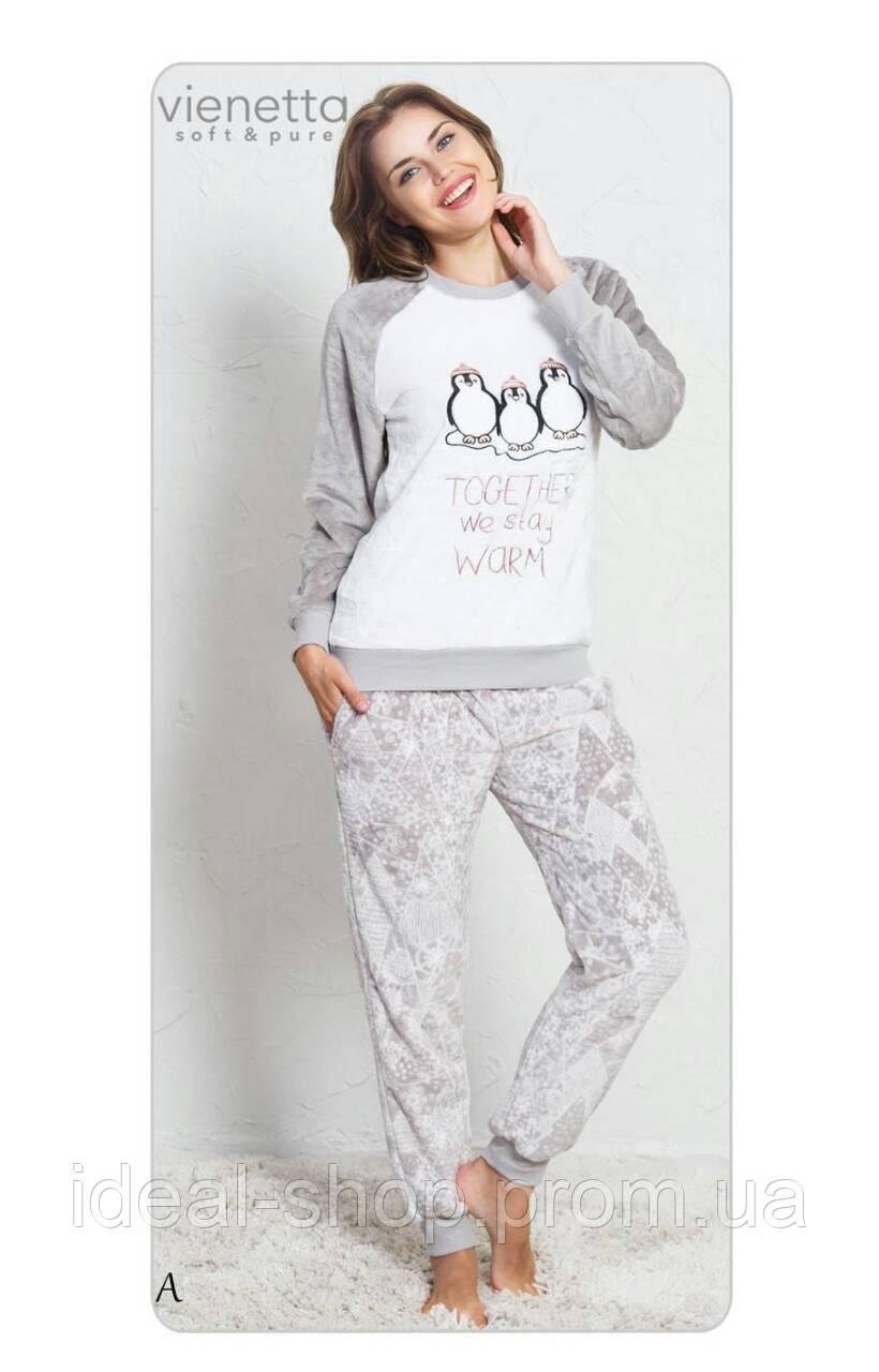 Плюшевая женская пижама Пингвины  продажа 876e5628f08c3