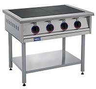 Плита электрическая 4-х конфорочная без духовки Кий-В ПЭ-4 (ПЕ-4)