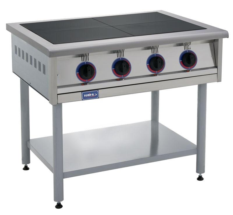 Плита электрическая 4-х конфорочная без духовки Кий-В ПЭ-4 (ПЕ-4) - «E-Trade» в Днепре