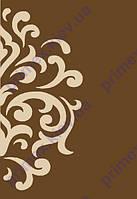 """Коврик Флорида """"Узор на половине ковра"""" цвет коричневый. Купить Ковры в Киеве и Украине"""