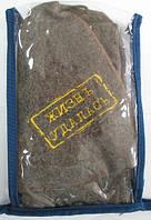 Набор для сауны суконный (подстилка, рукавичка, шапочка)
