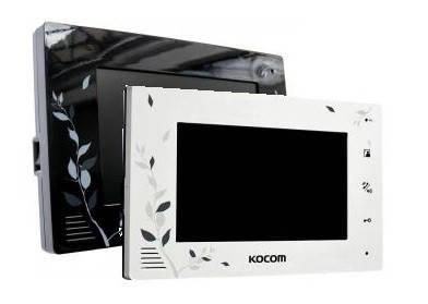 Видеодомофон Kocom KCV-A374LE black