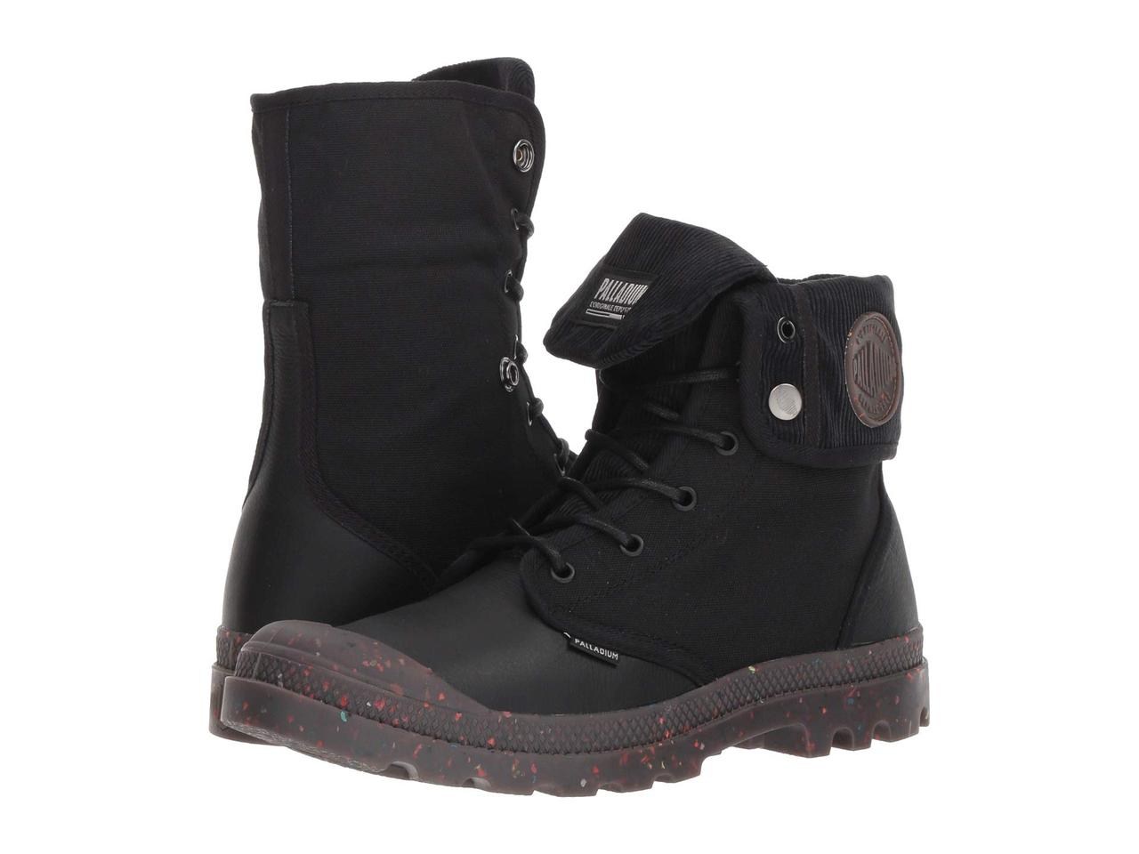 Ботинки Сапоги (Оригинал) Palladium Baggy Explorer Corduroy Black Black ddb8c4e13867b