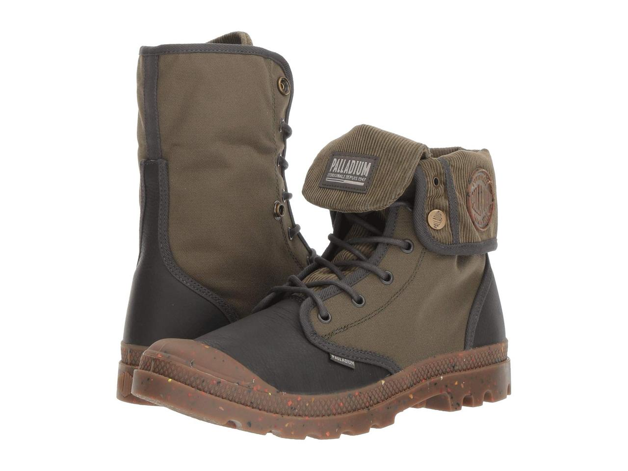 Ботинки Сапоги (Оригинал) Palladium Baggy Explorer Corduroy Beluga Olive  Knit Khaki dbdc61ac0c641