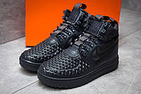 Зимние кроссовки в стиле Nike LF1 Duckboot, темно-синий (30253),  [  42 (последняя пара)  ]