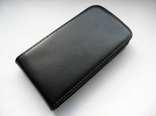 Качественный чехол-пенал на Ваш samsung i9000 раскладной чёрный, фото 2