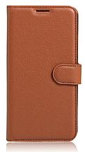 Чехол-книжка для Xiaomi Mi Max Коричневый