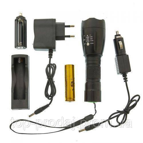 Подствольный фонарик BL Q1891-T6 police, Тактический фонарик, Фонарь ручной на аккумуляторе с выносной кнопкой