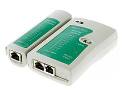 Многофункциональный тестер сети, телефонного кабеля  RJ45 RJ11