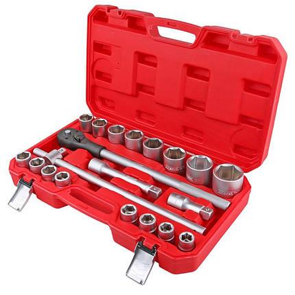 """Профессиональный набор инструментов HAISSER 3/4"""" 20 ед. (70114), фото 2"""