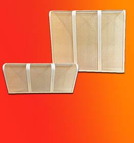Декоративная решетка для радиаторов отопления на батарею «Аккорд»