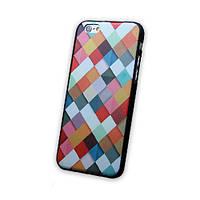 """Чехол для iPhone 6 4.7"""" Мадрасская клетка, фото 1"""