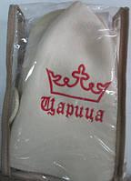 Набор для сауны фетровый (подстилка, рукавичка, шапочка)