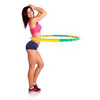 Гимнастический массажный обруч Hulla Hoop, обруч для тонкой талии Хула Хуп, обручи для похудения