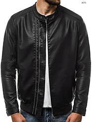 Кожаная куртка J.Style  с манжетом