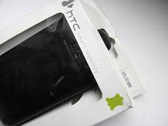 Чехол кожа чёрный HTC mini 10.5х6см. КАЧЕСТВО!!!