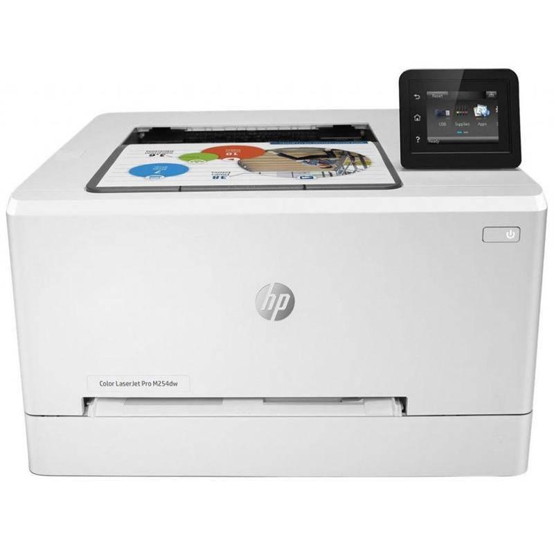 Принтер А4 HP Color LJ Pro M254dw c Wi-Fi (T6B60A)