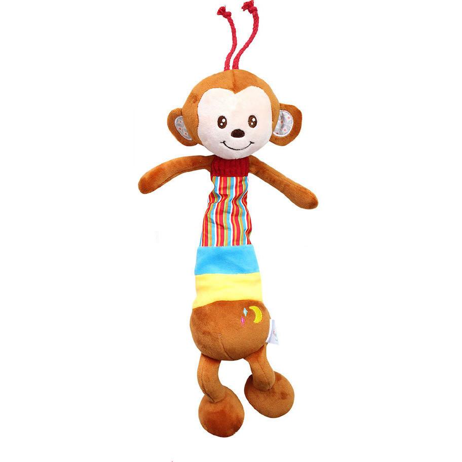 Мягкая музыкальная подвеска Мартышка Happy Monkey