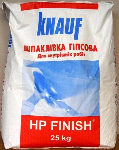 Шпаклевка гипсовая HP FINISH (KNAUF) 25 кг
