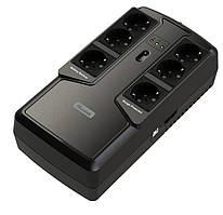ИБП Mustek PowerMust 800 Offline,  6xSchuko, USB  (800-LED-OFF-T10)