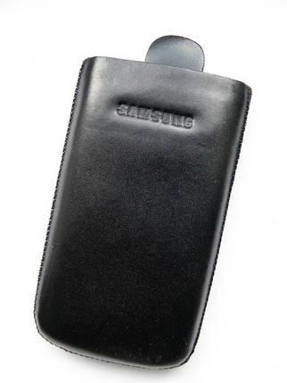 Чехол кожа чёрный S5230 10.5х5.5см., фото 2
