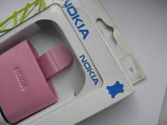 Чехол кожа розовый X6 11.5х6см. КАЧЕСТВО!!!