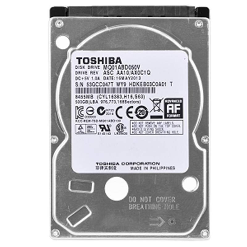 "HDD 2.5"" SATA  500GB Toshiba 5400rpm 8MB (MQ01ABD050V) гар. 12 мес."
