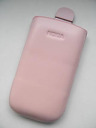 Чехол кожа розовый 5800 11.5х6.5см. КАЧЕСТВО!!!, фото 2