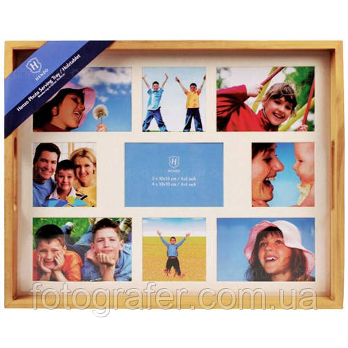 Рамки для фотографий HENZO Serving tray 9 photo's beige 80.964.05