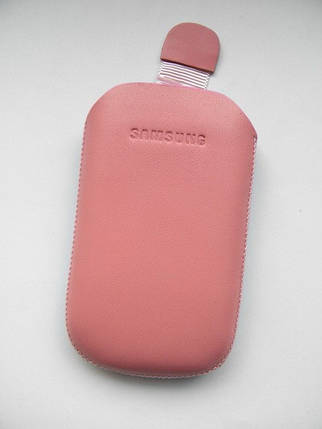 Чехол кожа розовый C3510 10х6.5см. КАЧЕСТВО!!!, фото 2