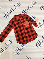 Рубашка шёлковая 4-14 лет