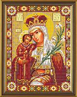 """Схема для вышивки """"Богородица Неувядаемый Цвет"""""""