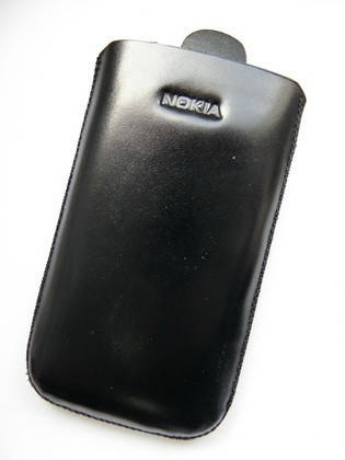 Чехол кожа чёрный N8 11.5х6.5см. КАЧЕСТВО!!!, фото 2