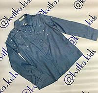 Блуза на девочку 4-14 лет