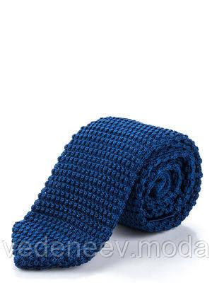 Стильный галстук-носок синего цвета