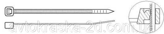 Стяжки-Хомуты кабельные (3,6*250)