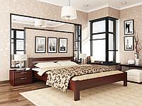 Кровать Рената Эстелла 80×200 см Буковый щит 101 - Орех темный