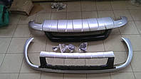 Накладка на передний и задний бампера Volkswagen Touareg (2010-...)