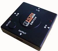 Switch переключатель коммутатор видео сигнала HDMI свитчер 3->1 video