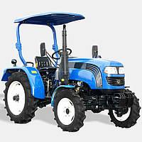 Трактор ДТЗ 4244Р (24л.с., 3 цилиндра, полный привод, гидроусилитль, навес), фото 1