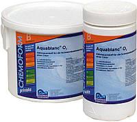 Средство для дезинфекции воды бассейна Кислород в таблетках Aqua Blanc О2 Freshpool, 1кг