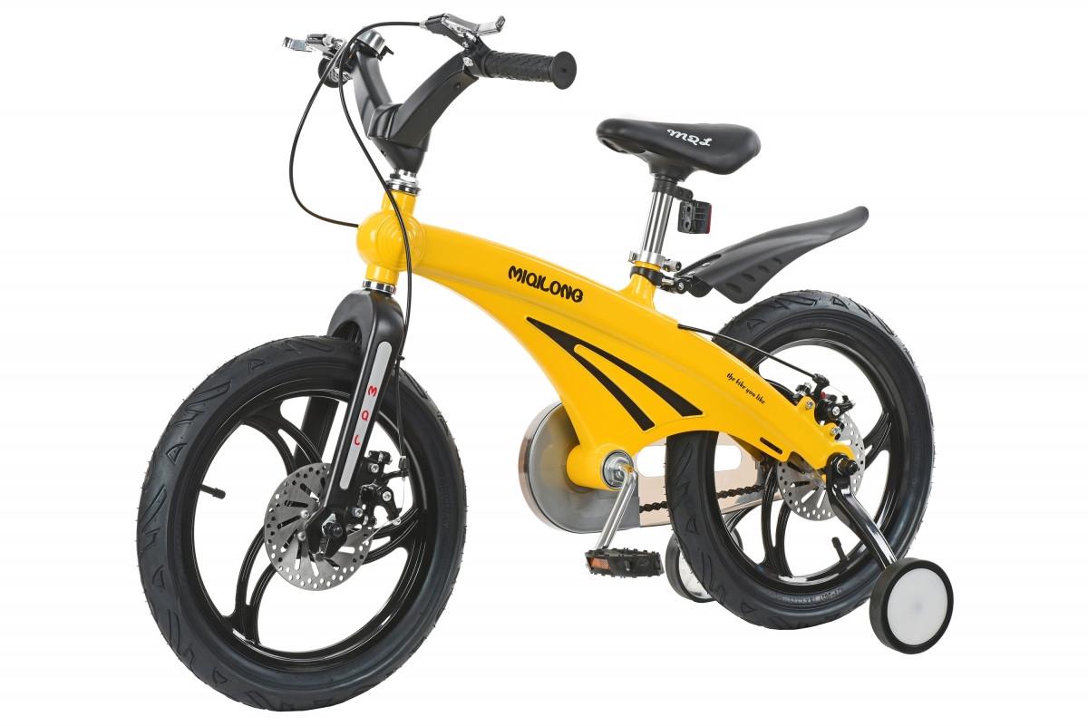 5edc17fcf5f8ef Детский велосипед Miqilong MQL-GN [MQL-GN16-Yellow], цена 4 339 грн ...