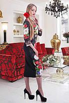 Красивое женское  платье в этно-стиле  Принт из коллекции Dolce&Gabbana. размеры 42-48, фото 3