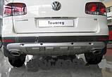 Накладка на передний и задний бампера Volkswagen Touareg (2002-2009), фото 5