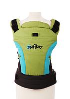 Эргономичный рюкзак-переноска для детей «ЕСО Design «Womar салатовый