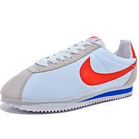 Мужские кроссовки женские кроссовки найк кортез Nike Classic Cortez Nylon 09 белые