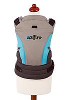 Эргономичный рюкзак-переноска для детей «ЕСО Design «Womar бирюзовый