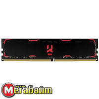 Опер. память DDR4 4GB/2400 GOODRAM Iridium Black (IR-2400D464L17S/4G)