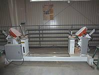 Усозарезной станок б/у MJZ-1023 для дверных коробок, двухсторонний со сверлильной группой, 2008 г., фото 1